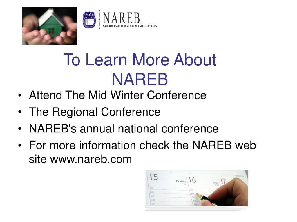 To Learn More About NAREB