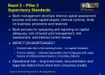 basel 2 pillar 2 supervisory standards