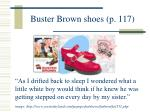 buster brown shoes p 117