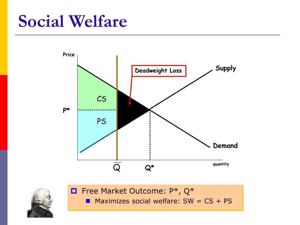 Free Market Outcome: P*, Q*