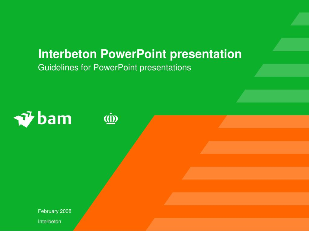 interbeton powerpoint presentation l.