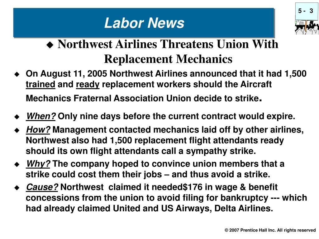 Labor News