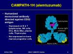 campath 1h alemtuzumab