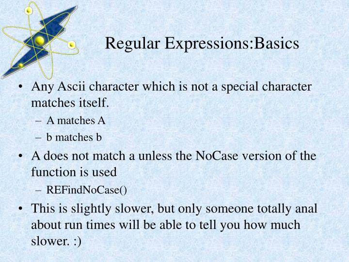 Regular expressions basics1