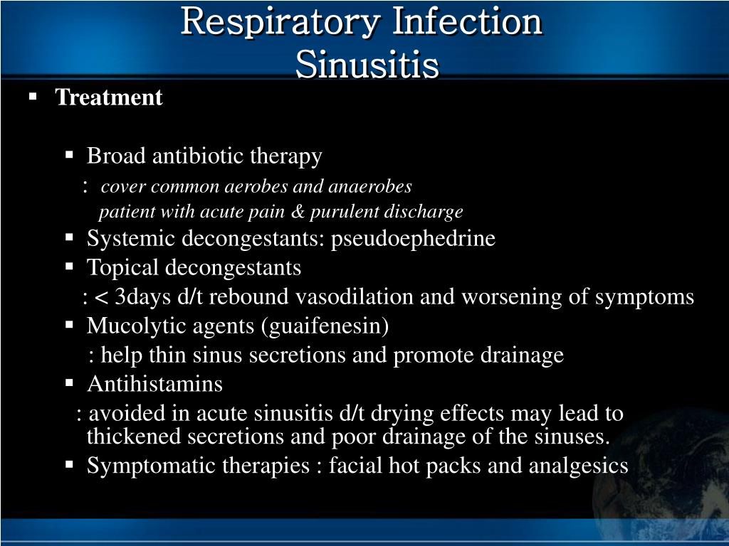 Respiratory Infection