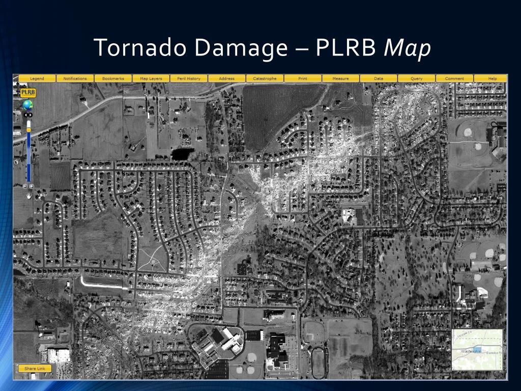 Tornado Damage – PLRB