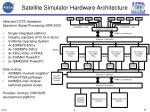 satellite simulator hardware architecture