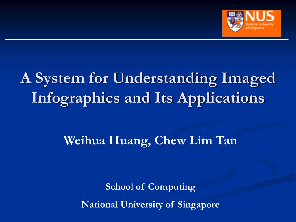 a system for understanding imaged infographics and its applications l.