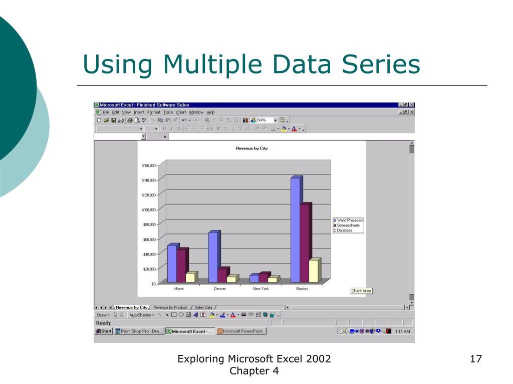 Using Multiple Data Series