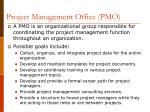 project management office pmo