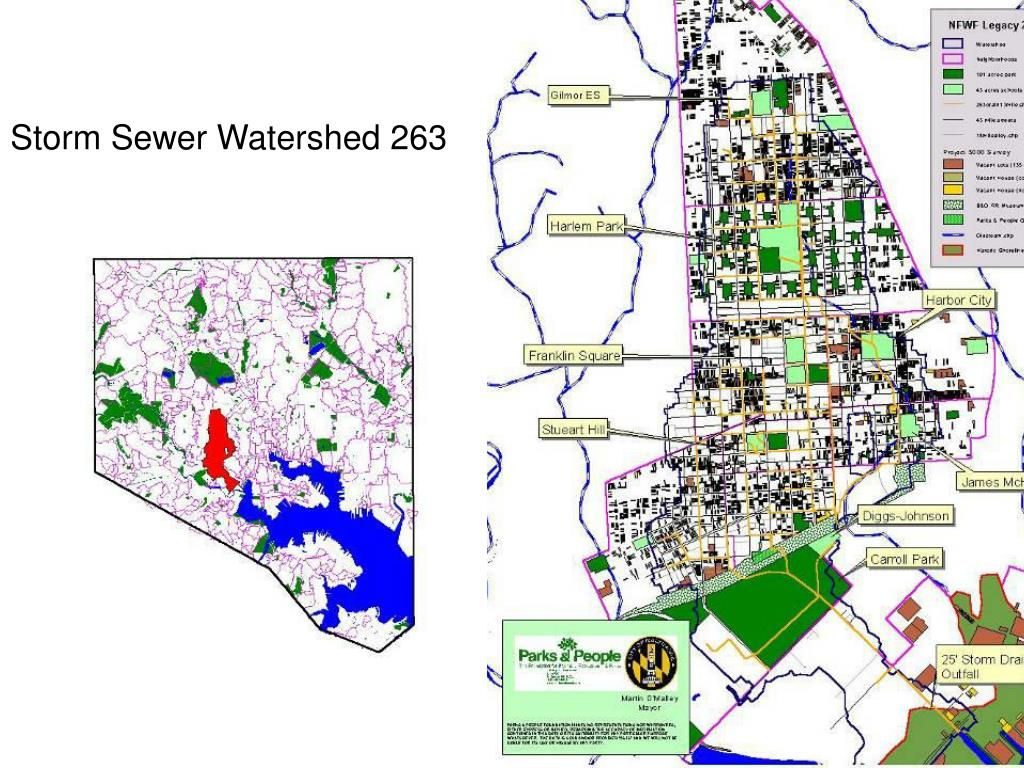 Storm Sewer Watershed 263