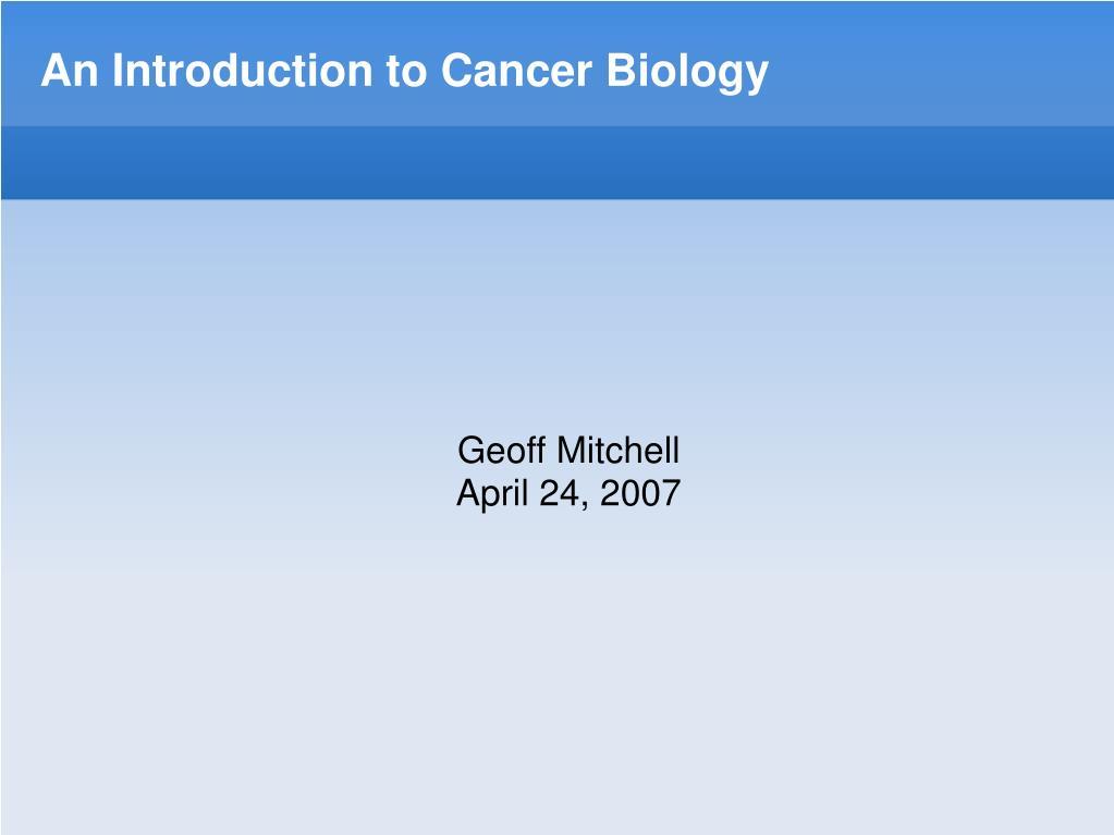 Geoff Mitchell