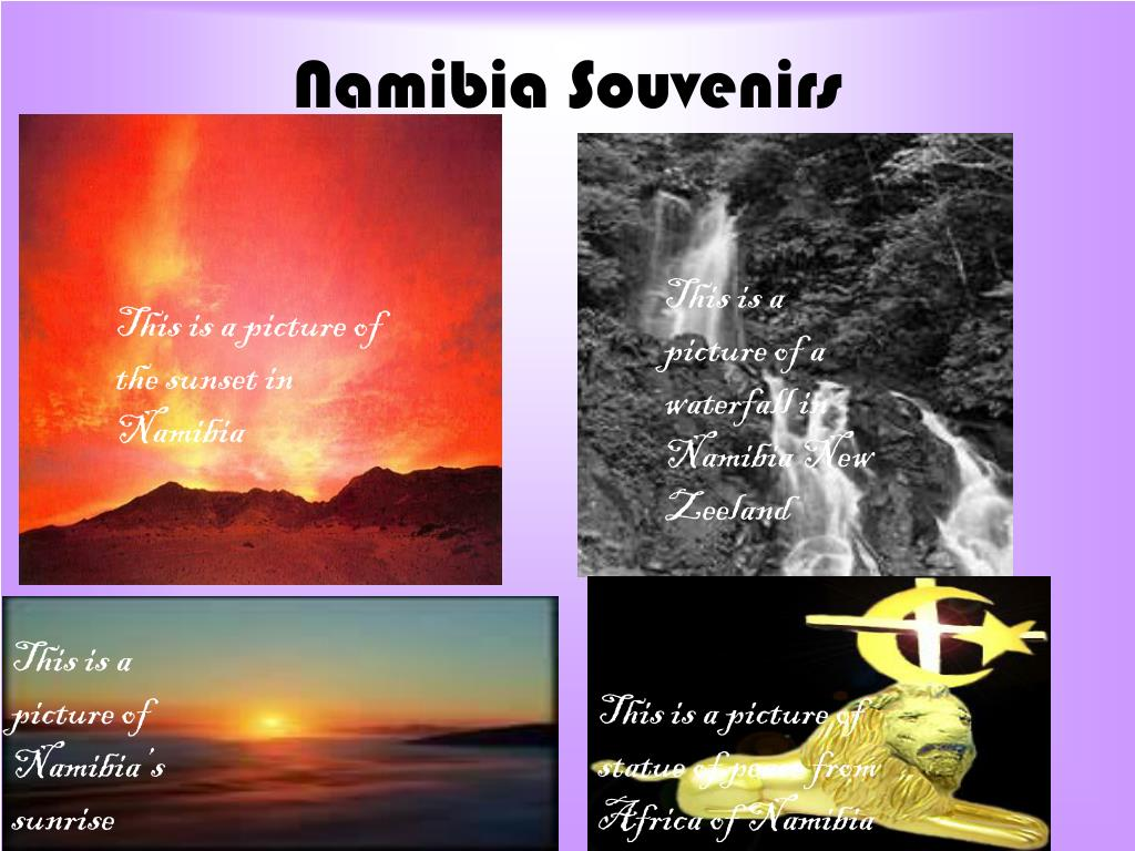 Namibia Souvenirs