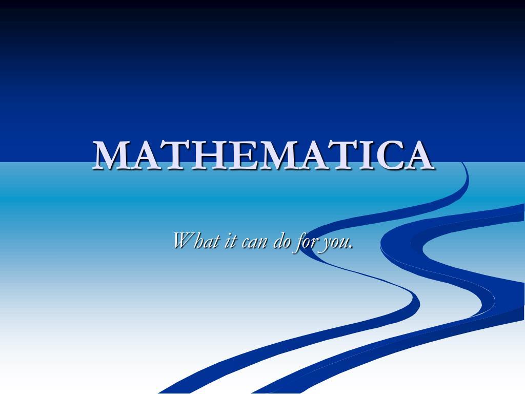 mathematica l.