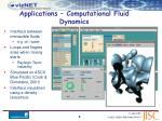 applications computational fluid dynamics