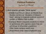 political problems28