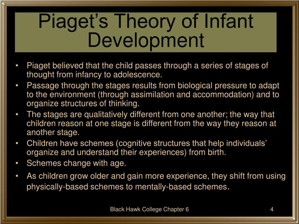 Piaget's Theory of Infant Development