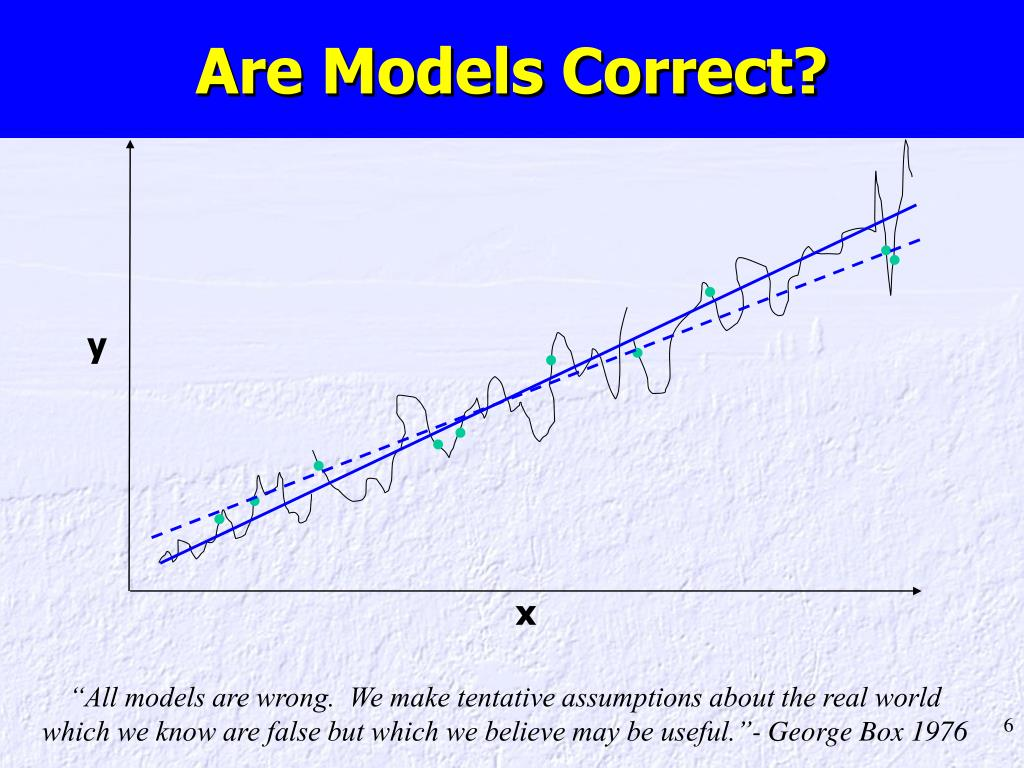 Are Models Correct?