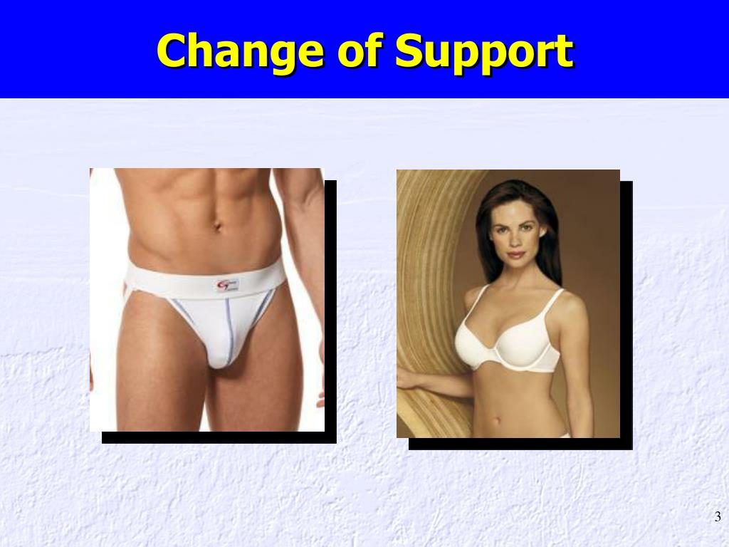 Change of Support