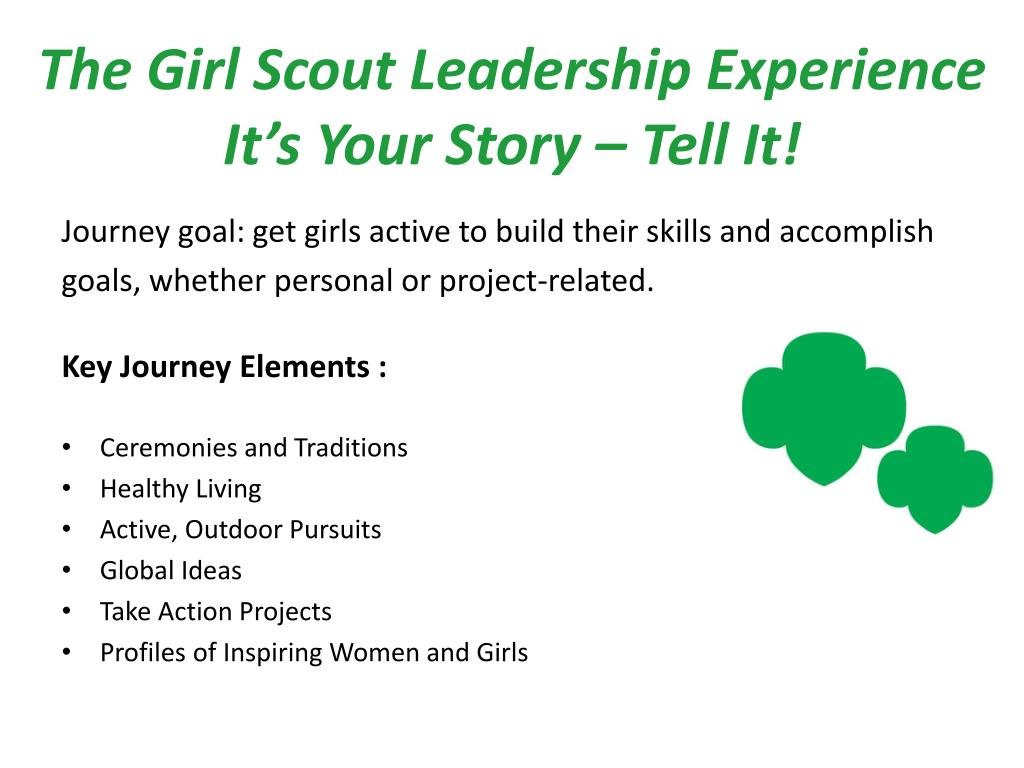 The Girl Scout Leadership Experience