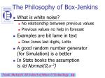 the philosophy of box jenkins10