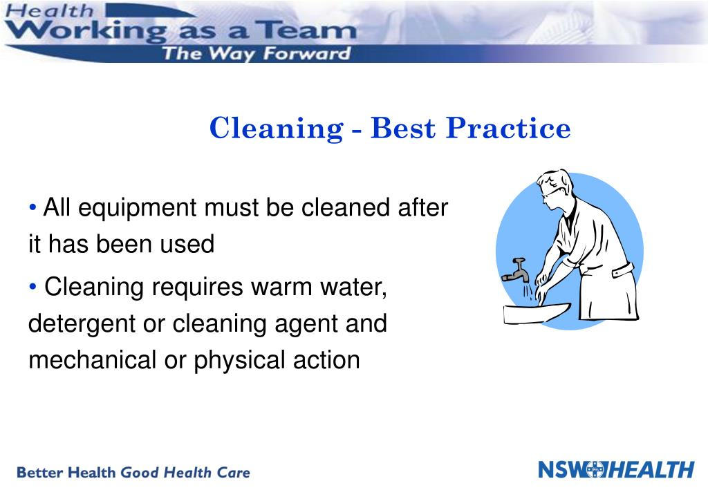 Cleaning - Best Practice