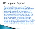 hp help and support4