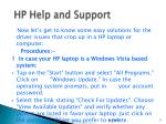 hp help and support6