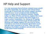 hp help and support8