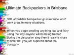 ultimate backpackers in brisbane
