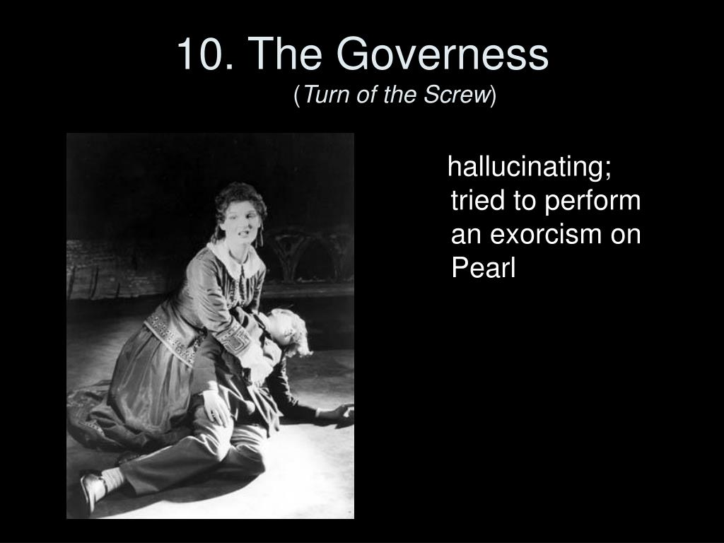 10. The Governess
