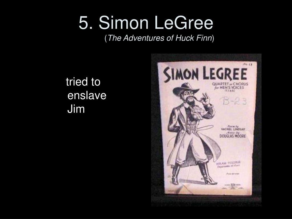 5. Simon LeGree