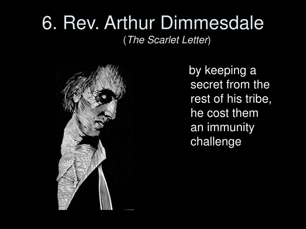 6. Rev. Arthur Dimmesdale