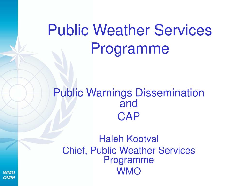 public weather services programme l.