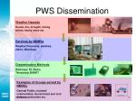 pws dissemination