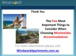 the five most important things to consider when choosing mooloolaba accommodations11