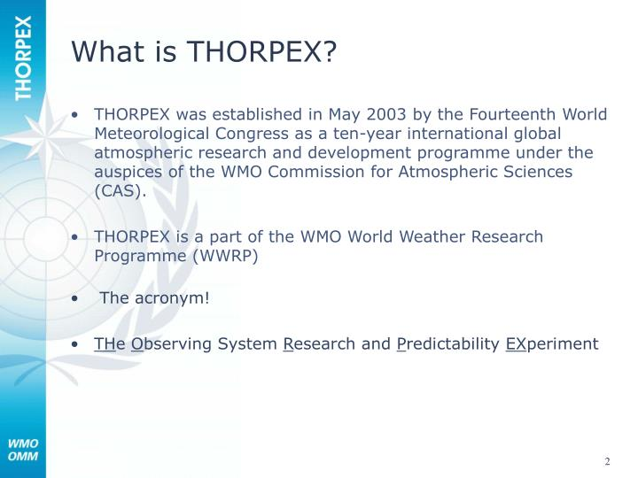 What is thorpex