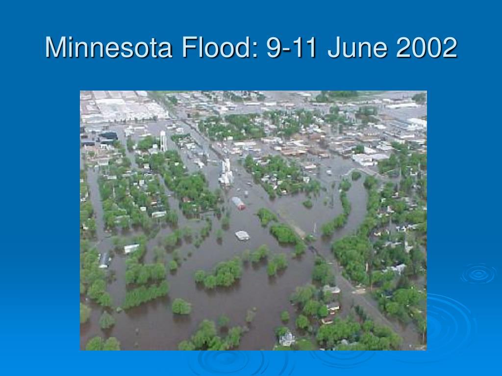 Minnesota Flood: 9-11 June 2002