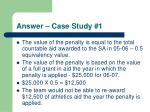 answer case study 1