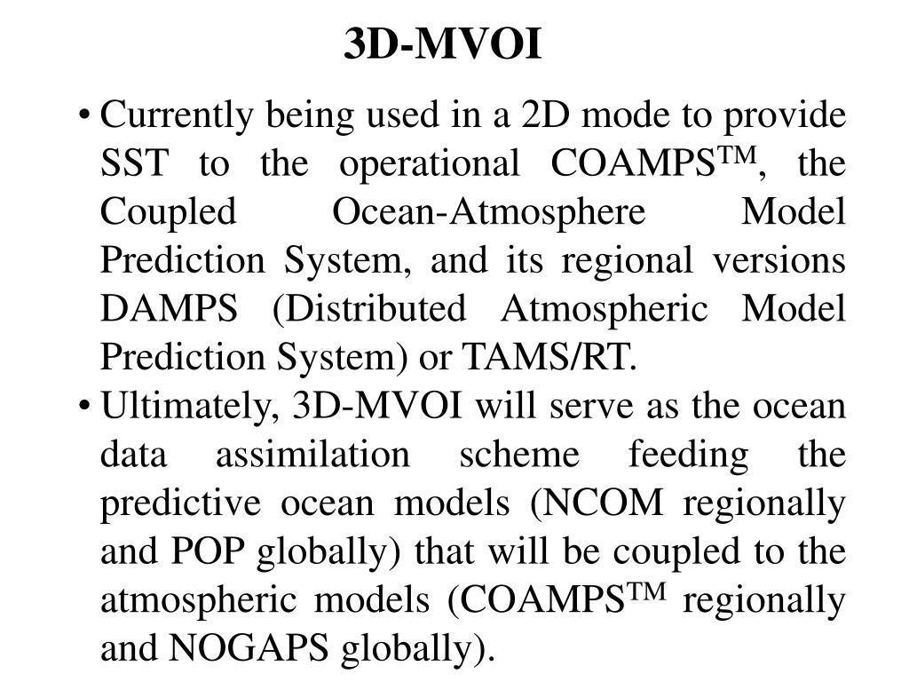 3D-MVOI