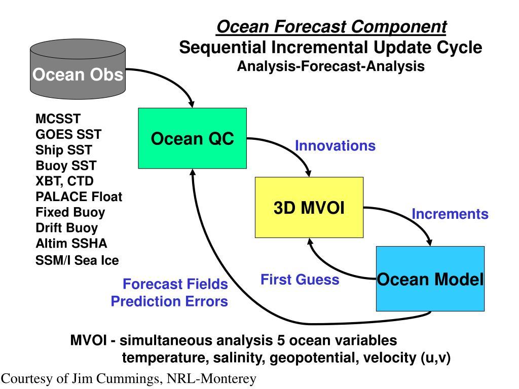 Ocean Forecast Component