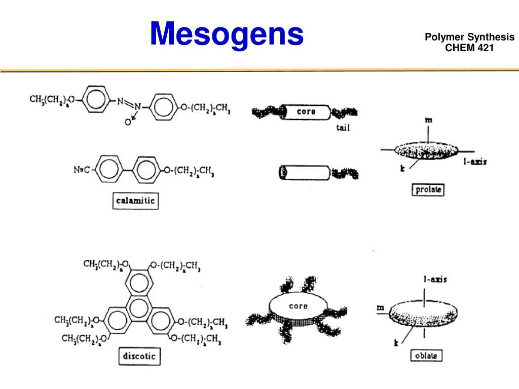 Mesogens