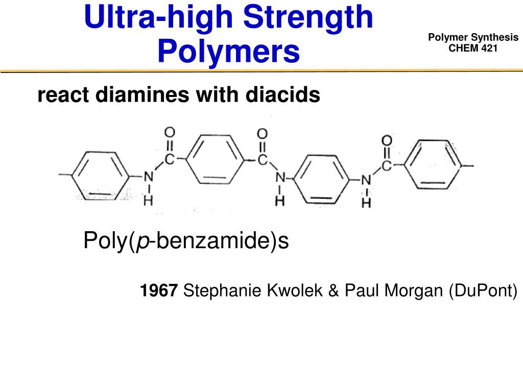 Ultra-high Strength Polymers