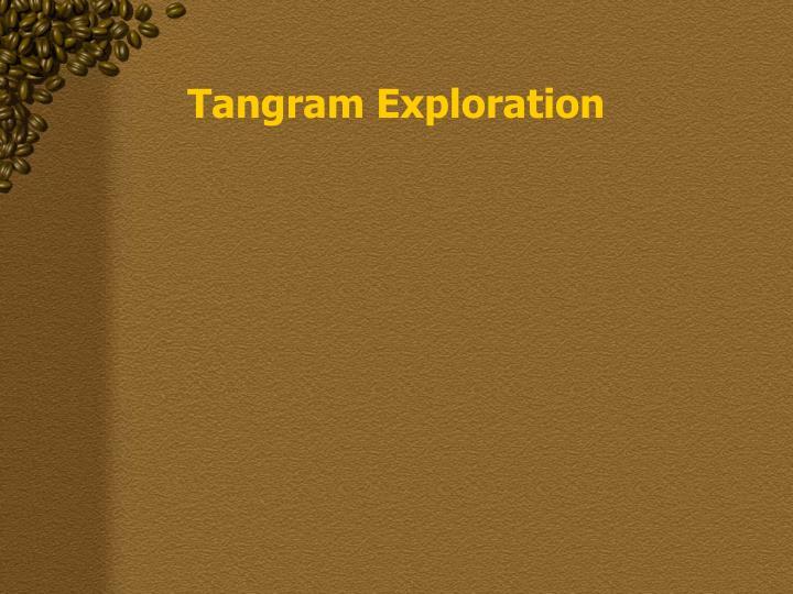 Tangram Exploration
