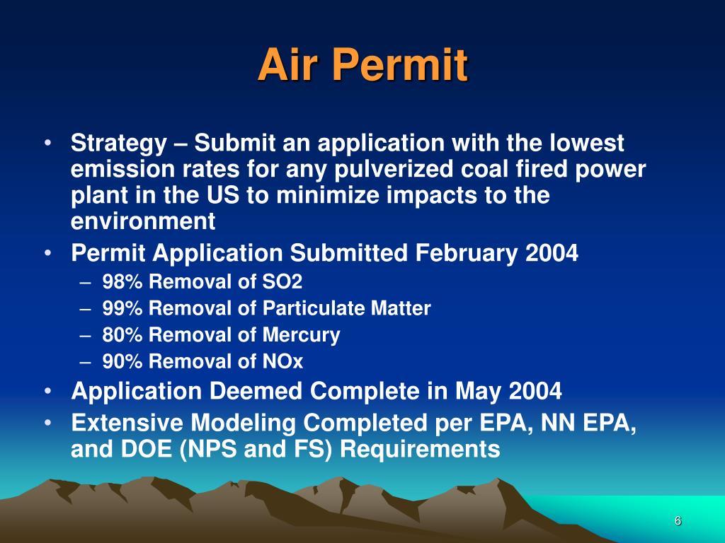Air Permit