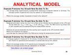 analytical model38