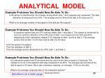 analytical model39