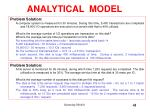 analytical model41