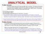analytical model42