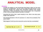analytical model45